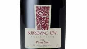 Burrowing Owl Estate Winery 2014 Pinot Noir Label