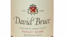 David Bruce Winery 2012 Pinot Noir Label