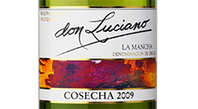 Don Luciano Blanco Cosecha La Mancha Label