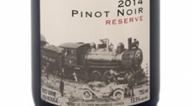 Kettle Valley Winery 2014 Pinot Noir Reserve Label