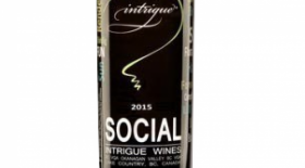 Intrigue Wines 2017 Social White Label