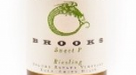 Brooks Sweet P 2013 Riesling Label