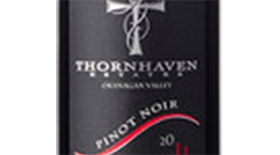 Thornhaven Estates Winery 2011 Pinot Noir Label