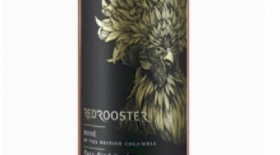 Red Rooster 2017 Rare Bird Rose Label