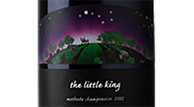 The Little King  - Methode Champenoise Sparkling Wine Label