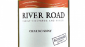 River Road Family Vineyards and Winery 2015 Chardonnay Label