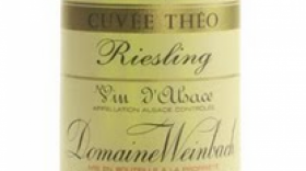 Domaine Weinbach Cuvée Théo 2016 Riesling Label