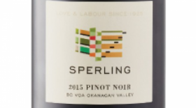 Sperling Vineyards 2015 Pinot Noir | Red Wine