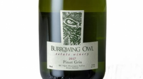 Burrowing Owl Estate Winery 2017 Pinot Gris Label