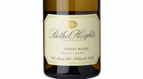 Pinot Blanc Estate Grown Label