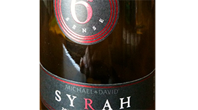 Michael David Winery 6th Sense 2007 Syrah Label