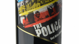 The Police Synchronicity Red Wine Blend Label