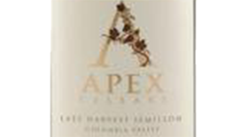 Apex Cellars  Late Harvest Semillon Label
