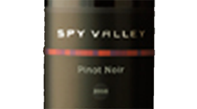 Spy Valley Wines 2012 Pinot Noir Label