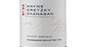 Wayne Gretzky Estates 2012 Pinot Grigio Label