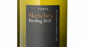 Tawse Sketches 2015 Riesling Label