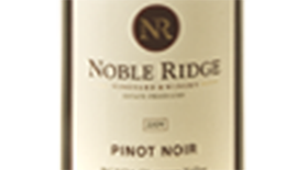 Noble Ridge Vineyard & Winery 2011 Pinot Noir Label