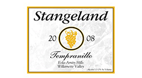 Stangeland 2010 Tempranillo | Red Wine