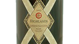 Highlands Cabernet Sauvignon Howell Mountain Beatty Ranch | Red Wine