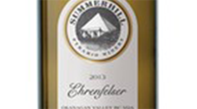 Summerhill Pyramid Winery 2013 Ehrenfelser Label