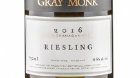 Gray Monk Estate Winery 2016 Riesling Label