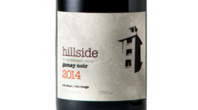 Hillside Winery & Bistro 2014 Gamay Noir Label