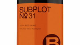J. Bookwalter Winery Subplot #31 2014 Label