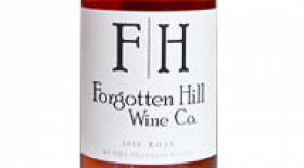 Forgotten Hill Wine Co. 2016 Rosé Label