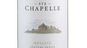 Ste. Chapelle Chateau Series Moscato Label