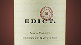 Napa Valley Cabernet Sauvignon Label
