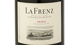 La Frenz 2012 Syrah (Shiraz) Label