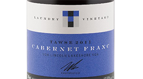 Tawse Winery 2010 Cabernet Franc Label