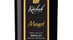 Mozart Estate Reserve Merlot Label