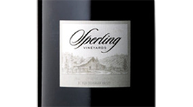 Sperling Vineyards 2012 Pinot Noir Label