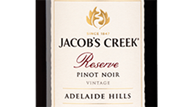 Reserve Adelaide Hills Pinot Noir Label