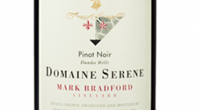 Mark Bradford Vineyard Pinot Noir Label