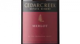 CedarCreek Estate Winery 2012 Merlot Label
