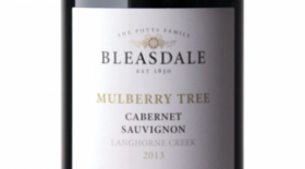Bleasdale Mulberry Tree 2013 Cabernet Sauvignon Label