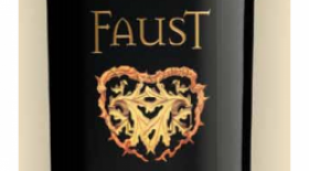 Faust Winery 2012 Cabernet Sauvignon Label