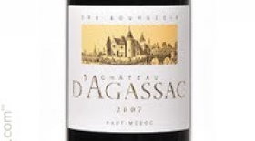 Chateau D'Agassac Red Bordeaux Label