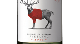 Tussock Jumper 2013 Riesling Label