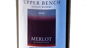 Upper Bench 2012 Merlot | Red Wine