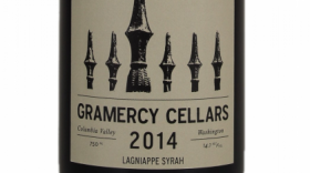 Gramercy Cellars Lagniappe 2014 Syrah Label