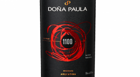 Doña Paula 1100 Red Blend Label