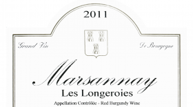 Marsannay Les Longeroies Label