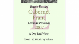 Longview Winery 2011 Cabernet Franc | Red Wine