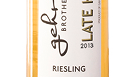 Gehringer Brothers Late Harvest 2013 Riesling Label