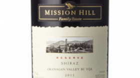 Mission Hill Reserve 2011 Shiraz Label
