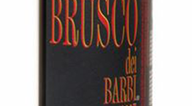 Brusco dei Barbi Sangiovese IGT Label