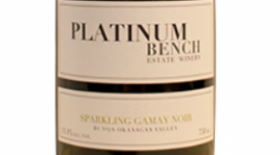 Platinum Bench Estate Winery 2013 Sparkling Gamay Noir Label